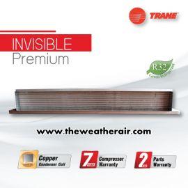 แอร์ Trane เปลือย (Concealed Duct Type) น้ำยา R32 ต่อท่อดักส์ 2-5 เมตร รุ่น INVISIBLE Premium ขนาด 30,000BTU-60,000BTU