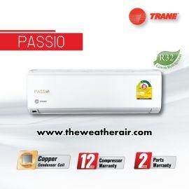 แอร์ Trane ติดผนัง (Wall Type) เบอร์ 5 น้ำยา R32 รุ่น Passio ขนาด 9,000BTU-25,000BTU