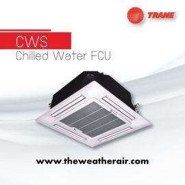 แอร์ Trane คอยล์น้ำเย็น ชนิดสี่ทิศทาง (Cassette Water Cooled Type) รุ่น CWS ขนาด 12,000BTU-48,000BTU