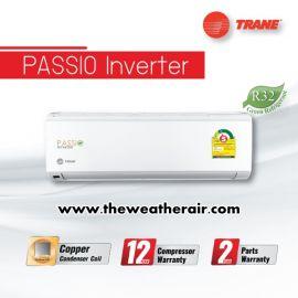 แอร์ Trane ติดผนังอินเวอร์เตอร์ (INVERTER Wall Type) เบอร์ 5 น้ำยา R32 รุ่น Passio ขนาด 9,000BTU-24,000BTU