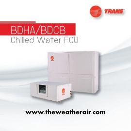 แอร์ Trane คอยล์น้ำเย็น ชนิดต่อท่อลม (Chilled Water Fan Coil Duct Type) รุ่น BDHA, BDCB ขนาด 61,400BTU-240,100BTU