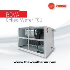 แอร์ Trane คอยล์น้ำเย็น ชนิดต่อท่อลม (Chilled Water Fan Coil Duct Type) รุ่น BDVA ขนาด 238,000BTU-683,000BTU