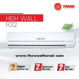 แอร์ Trane ติดผนัง (Wall Type) น้ำยา R32 รุ่น High Wall Standard ขนาด 30,000BTU-36,000BTU