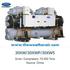 แอร์ Carrier ชิลเลอร์ (Chiller Type) น้ำยา R134a รุ่น 30XW412 ขนาด 118.9 ตัน