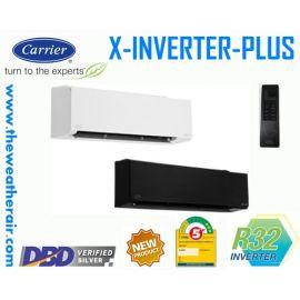 แอร์ Carrier X-INVERTER PLUS (INVERTER Wall Type) เบอร์ 5 น้ำยา R32 รุ่น TVAA,TVAB ขนาด 9,200BTU-36,000BTU