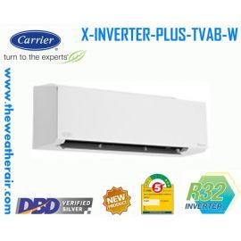 แอร์ Carrier X-INVERTER PLUS รุ่น 38TVAB028/42TVAB028-W ขนาด 25,200BTU