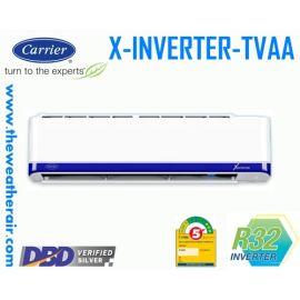 แอร์ Carrier X-INVERTER รุ่น 38TVAA030/42TVAA030 ขนาด 27,200BTU