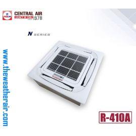 แอร์ Central Air สี่ทิศทาง (4 Way Cassette Type) น้ำยา R410a รุ่น CFC-N ขนาด 12,000BTU-60,000BTU