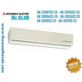 ม่านอากาศ Mitsubishi Electric (Air Curtain) ขนาด 90 ซม.-120 ซม. แรงลม 2.5m, 3m, 3.5m High-Power, 5m