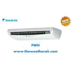 แอร์ Daikin คอยล์น้ำเย็น ชนิดตั้งแขวน (Chilled Water Cooled Floor Ceiling Type) รุ่น FWH ขนาด 12,000BTU-60,000BTU