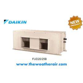 แอร์ Daikin คอย์น้ำเย็น ชนิดต่อท่อลม (Ducted Chilled Water Cooled Type) รุ่น FUD ขนาด 75,600BTU-150,000BTU