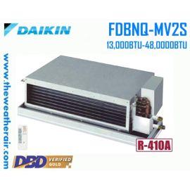 แอร์ Daikin เปลือย (Duct Connect Type) ลมเบา น้ำยา R410a รุ่น FDBNQ ขนาด 13,000BTU-48,000BTU