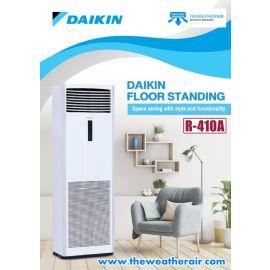 แอร์ Daikin ตู้ตั้งพื้น (Floor Standing Type) น้ำยา R410a รุ่น FVRN,FVGR,FVPR ขนาด 42,000BTU-176,000BTU
