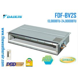 แอร์ Daikin เปลือยอินเวอร์เตอร์ (INVERTER Duct Type) เบอร์ 5 น้ำยา R32 รุ่น FBA,FDF ขนาด 13,000BTU-48,000BTU