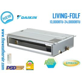 แอร์ Daikin เปลือยอินเวอร์เตอร์ (INVERTER Duct Type) เบอร์ 5 น้ำยา R32 รุ่น FBFC,FDBF,FDLF ขนาด 13,000BTU-48,000BTU