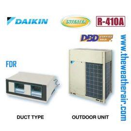 แอร์ Daikin ต่อท่อลมอินเวอร์เตอร์ (INVERTER Duct Type) น้ำยา R410a รุ่น FDR ขนาด 74,000BTU-176,000BTU