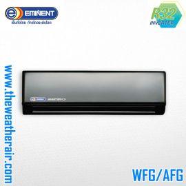แอร์ Eminent ติดผนังอินเวอร์เตอร์ (INVERTER Wall Type) เบอร์ 5 น้ำยา R32 รุ่น DOUBLE First Class AFG-V/WFG-V ขนาด 9,000BTU-24,000BTU