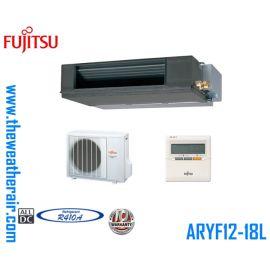 แอร์ Fujitsu เปลือยอินเวอร์เตอร์ (INVERTER Concealed Type) น้ำยา R410a รุ่น Compact ขนาด 12,000BTU-45,700BTU