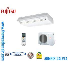 แอร์ Fujitsu ตั้งแขวนอินเวอร์เตอร์ (INVERTER Floor Ceiling Type) น้ำยา R410a รุ่น ABMG ขนาด 18,000BTU-48,000BTU