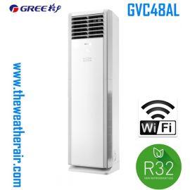 แอร์ Gree ตู้ตั้งพื้น (WIFI Floor Standing Type) น้ำยา R32 รุ่น GVC48AL ขนาด 42,000BTU