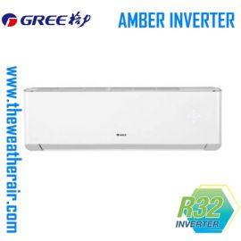 แอร์ Gree ติดผนังอินเวอร์เตอร์ (INVERTER Wall Type) เบอร์ 5 น้ำยา R32 รุ่น Amber ขนาด 9,000BTU-24,000BTU