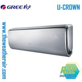 แอร์ Gree ติดผนังอินเวอร์เตอร์ (INVERTER Wall Type) เบอร์ 5 น้ำยา R32 รุ่น U Crown ขนาด 9,000BTU-18,000BTU