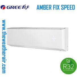 แอร์ Gree ติดผนัง (Wall Type) เบอร์ 5 น้ำยา R32 รุ่น AMBER ขนาด 9,000BTU-24,000BTU