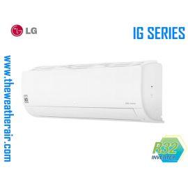 แอร์ LG ติดผนังอินเวอร์เตอร์ (INVERTER Wall Type) เบอร์ 5 น้ำยา R32 รุ่น IG ขนาด 9,000BTU-21,600BTU