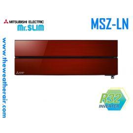 แอร์ Mitsubishi Electric ติดผนังอินเวอร์เตอร์ (INVERTER Wall Type) เบอร์ 5 น้ำยา R32 รุ่น 3D Move-Eye MSZ-LN ขนาด 9,000BTU-18,000BTU