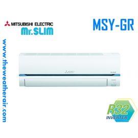 แอร์ Mitsubishi Electric Mr.Slim ติดผนังอินเวอร์เตอร์ (INVERTER Wall Type) ฟอกอากาศ PM-2.5 น้ำยา R32 รุ่น MSY-GR ขนาด 9,000BTU-30,000BTU