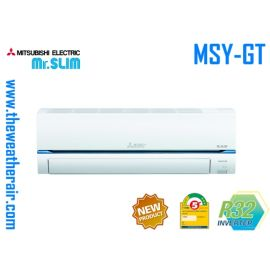แอร์ Mitsubishi Electric Mr.Slim ติดผนังอินเวอร์เตอร์ (INVERTER Wall Type) ฟอกอากาศ PM-2.5 น้ำยา R32 รุ่น MSY-GT,GR ขนาด 9,000BTU-30,000BTU