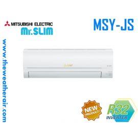 แอร์ Mitsubishi Electric Mr.Slim ติดผนัง (INVERTER Wall Type) เบอร์ 5 น้ำยา R32 รุ่น MSY-JP,JS ขนาด 9,000BTU-22,519BTU