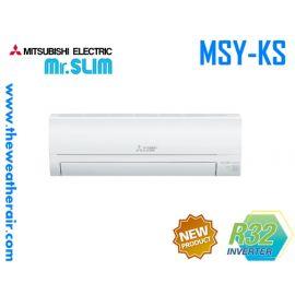 แอร์ Mitsubishi Electric Mr.Slim ติดผนังอินเวอร์เตอร์ (INVERTER Wall Type) เบอร์ 5 น้ำยา R32 รุ่น KP,KS,KT ขนาด 9,000BTU-22,519BTU