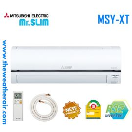 แอร์ Mitsubishi Electric Mr.Slim ติดผนังอินเวอร์เตอร์ (INVERTER Wall Type) ECO EYE - PM-2.5 เบอร์ 5 น้ำยา R32 รุ่น MSY-XT ขนาด 9,554BTU-17,742BTU