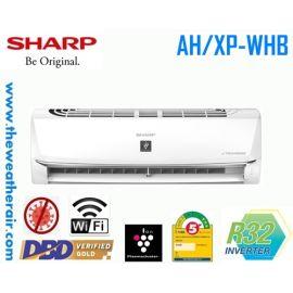 แอร์ Sharp ติดผนังอินเวอร์เตอร์ (INVERTER Wall Type) เบอร์ 5 น้ำยา R32 รุ่น AH/XP-WHB ขนาด 9,000BTU-21,500BTU