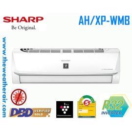 แอร์ Sharp ติดผนังอินเวอร์เตอร์ (INVERTER Wall Type) เบอร์ 5 น้ำยา R32 รุ่น AH/XP-WMB ขนาด 9,000BTU-21,500BTU