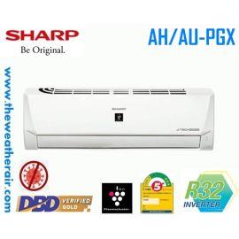 แอร์ Sharp ติดผนังอินเวอร์เตอร์ (INVERTER Wall Type) น้ำยา R32 รุ่น AH/AU-PGX10 ขนาด 9,300BTU