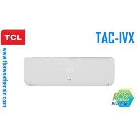 แอร์ TCL ติดผนังอินเวอร์เตอร์ (INVERTER Wall Type) เบอร์ 5 น้ำยา R32 รุ่น TAC/IVX ขนาด 9,000BTU-22,000BTU