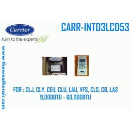 รีโมทไร้สาย Carrier พร้อมคอนโทรล รุ่น CARR-INTD3LCD53