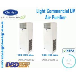 เครื่องฟอกอากาศ Carrier (UV Air Purifier) PM-2.5 สำหรับพื้นที่ 165-450 ตร.ม. รุ่น CARR-AP-T-UV