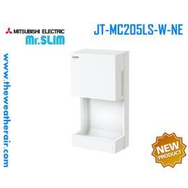 เครื่องเป่าลมมือ Mitsubishi Electric (Hand Dryer) Jet Towel Slim รุ่น JT-SB216KSN2-W-NE และ รุ่น Mini JT-MC205LS-W-NE