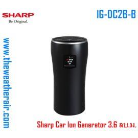 เครื่องฟอกอากาศในรถยนต์ Sharp (Car ion Generator) PM-2.5 สำหรับพื้นที่ 3.6 ลบ.ม. รุ่น IG-DC2B-B