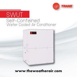แอร์ Trane แพคเกจระบายความร้อนด้วยน้ำ (Package Water Cooled Type) น้ำยา R22, R407c รุ่น SWUT ขนาด 61,500BTU-240,000BTU
