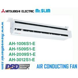 พัดลมอุตสาหกรรม Mitsubishi Electric Mr.Slim (Air Conducting Fan) ขนาด 55.2cm-120cm แรงลม 10 เมตร-30 เมตร